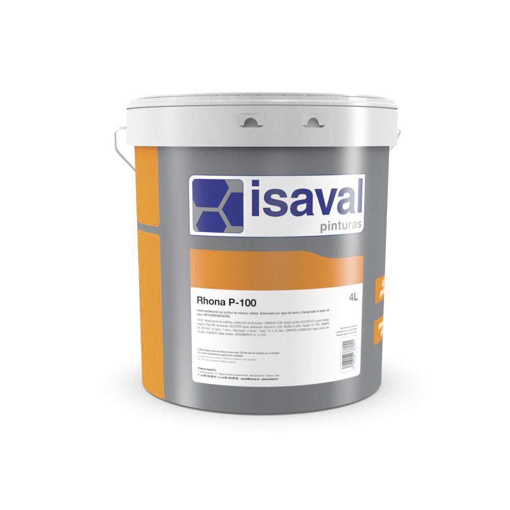 Rhona P-100. Revestimiento anticorrosivo cementoso. Pinturas Isaval