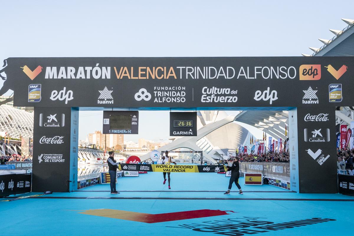 Record Mundo Cheptegei Valencia 10k