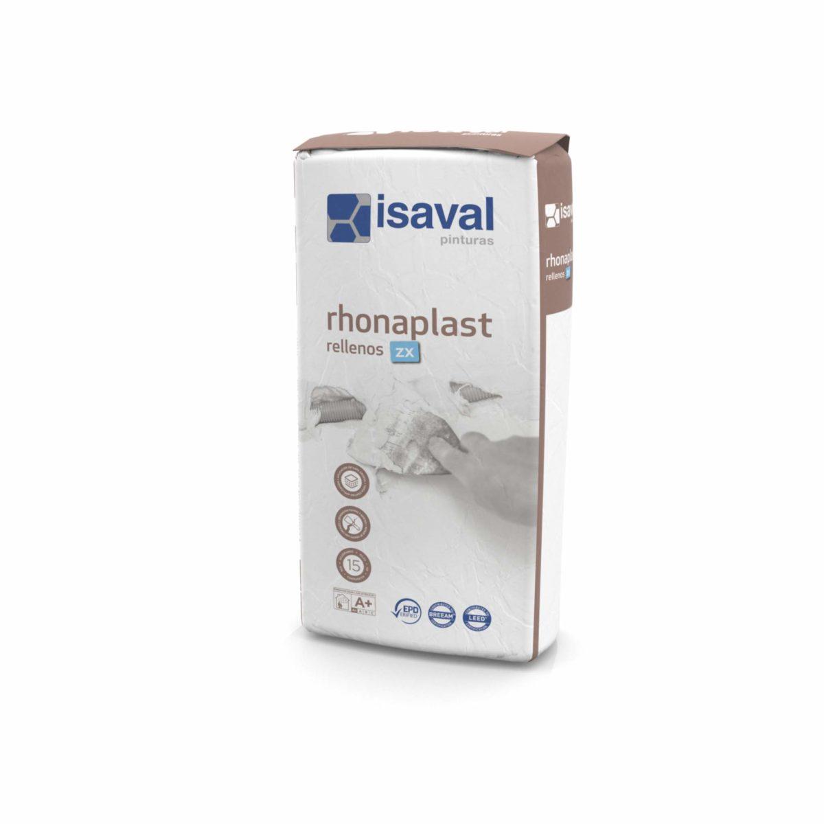 Rhonaplast Rellenos ZX. Enlucido para rellenos rápido de Pinturas Isaval