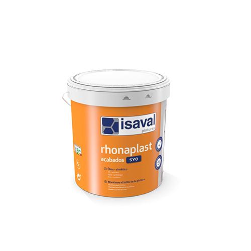 Rhonaplast Acabados SYO. Enlucido óleo sintético de Pinturas Isaval