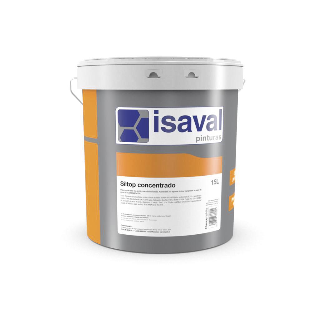 Siltop concentrado fijador diluyente. Imprimación a base de silicato potásico. Pinturas Isaval