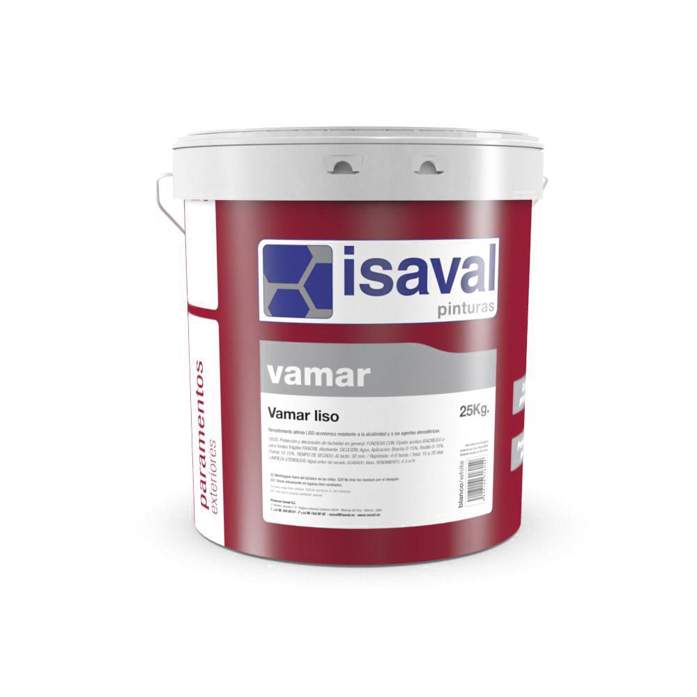 Vamar Liso. Revestimiento pétreo profesional. Pinturas Isaval