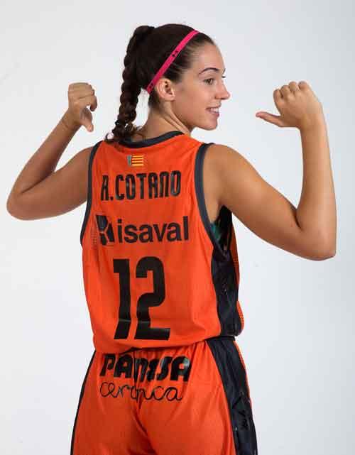 Rebeca Cotano - Valencia Basket Club Femenino - Patrocinado por Pinturas Isaval