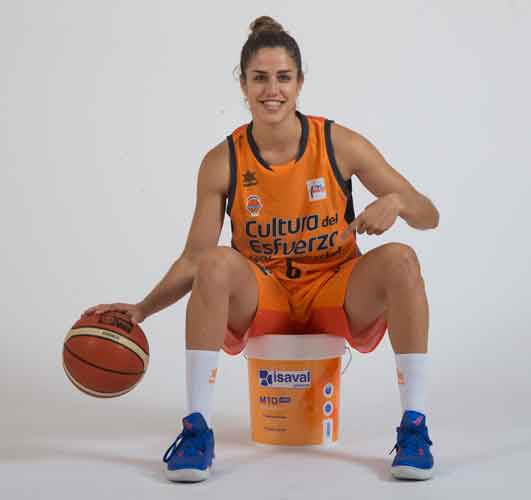 Irene Garí - Valencia Basket Club Femenino - Patrocinado por Pinturas Isaval
