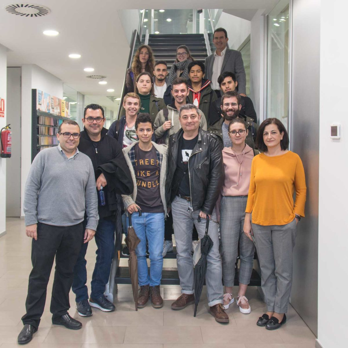 Visita alumnos CIPFP Vicente Blasco Ibáñez, Valencia