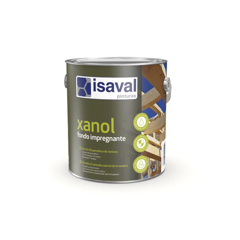 Xanol Fondo impregnante. Fondo a poro abierto de Pinturas Isaval