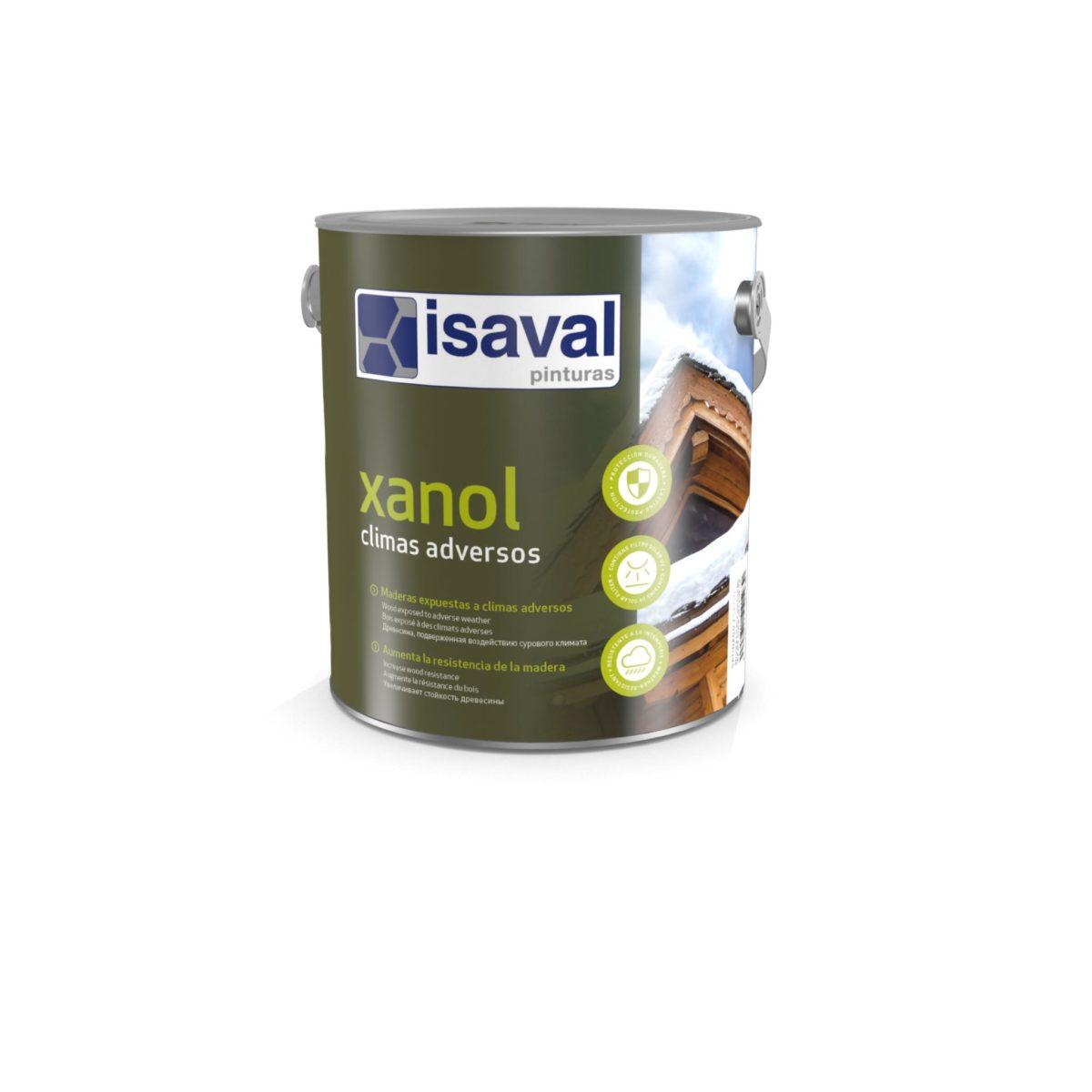 Xanol Climas adversos. Barniz poro abierto altas prestaciones de Pinturas Isaval