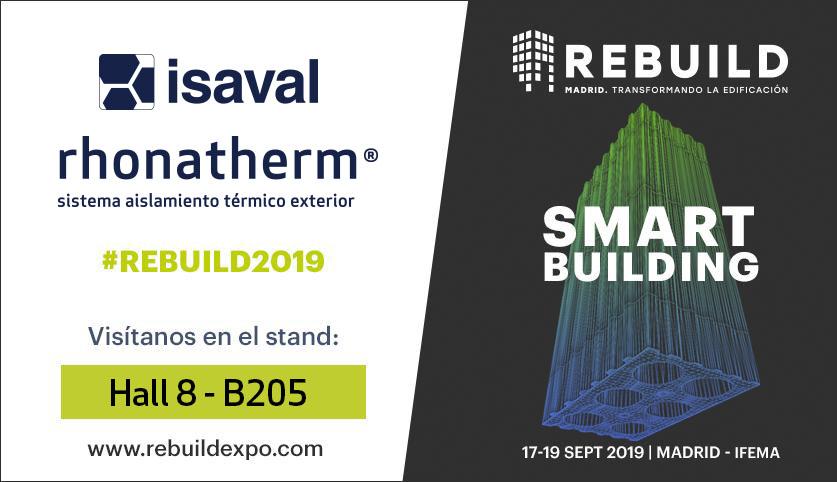 isaval participa en REBUILD