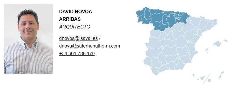 David Novoa Arquitecto Eficiencia Energetica Isaval