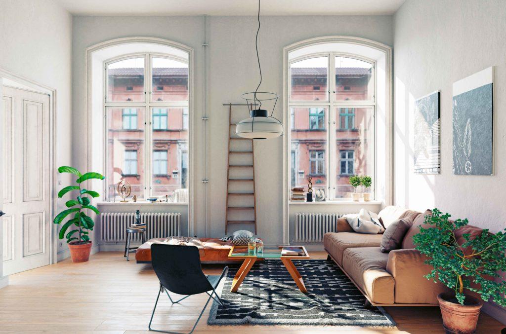 Colores para pintar pisos pequeños