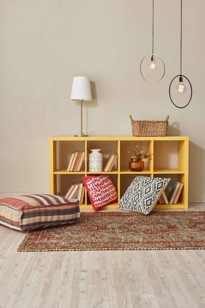 color arena para espacios pequeños