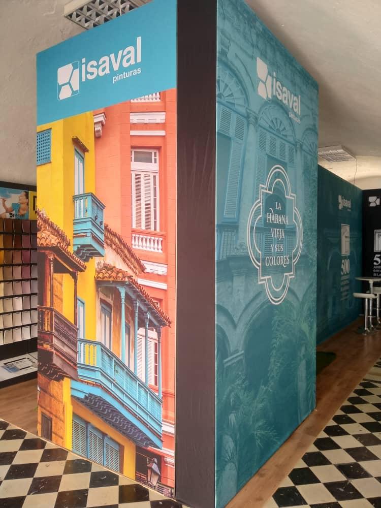 Pinturas Isaval participa en la 39º Edición de FITCUBA (La Habana, Cuba)