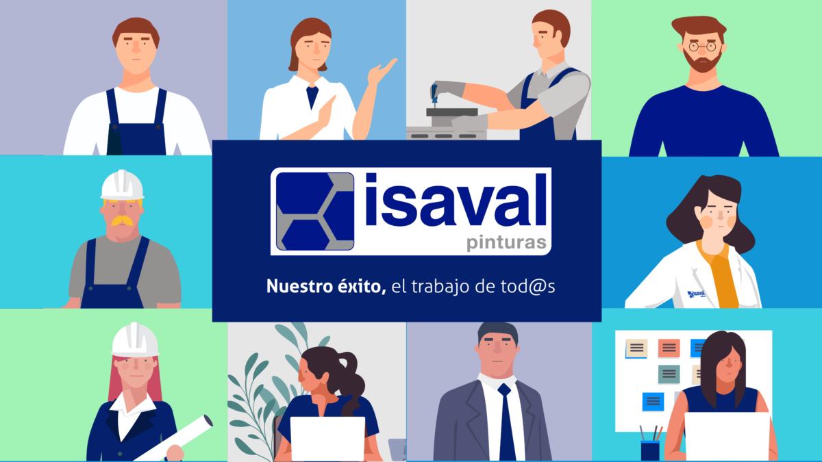 Los héroes y heroínas de Isaval, nuestros trabajadores.