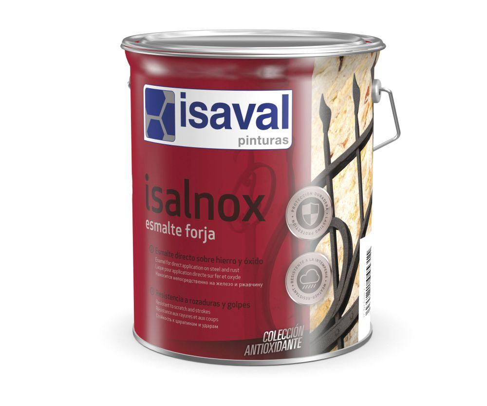 Isalnox Esmalte forja. Esmalte sintético anticorrosivo de Pinturas Isaval