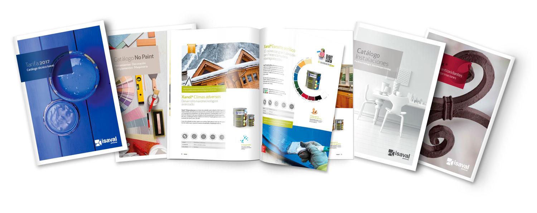 Cat logos isaval for Modelo de catalogo de productos