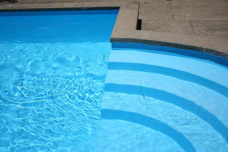 como pintar piscina hormigón