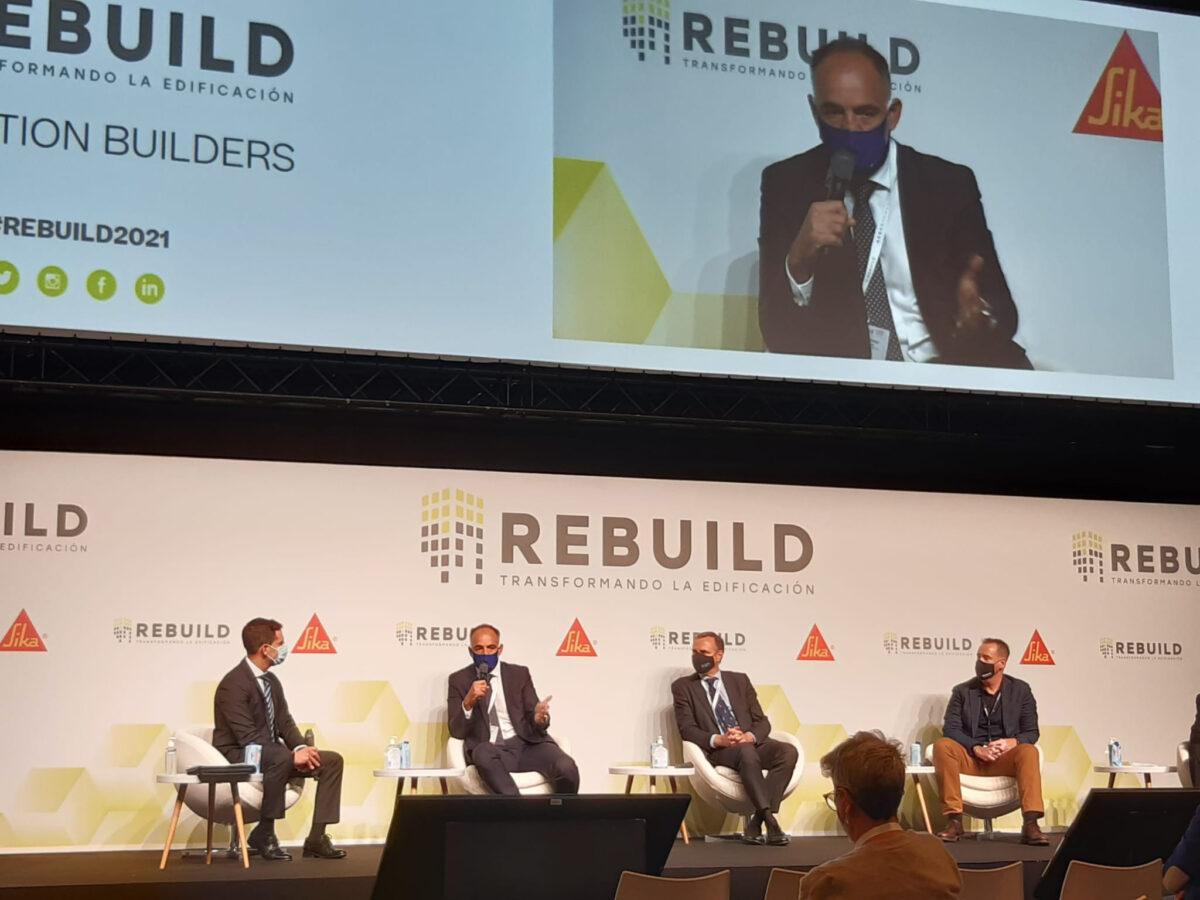 Isaval consolida su compromiso ambiental en REBUILD.