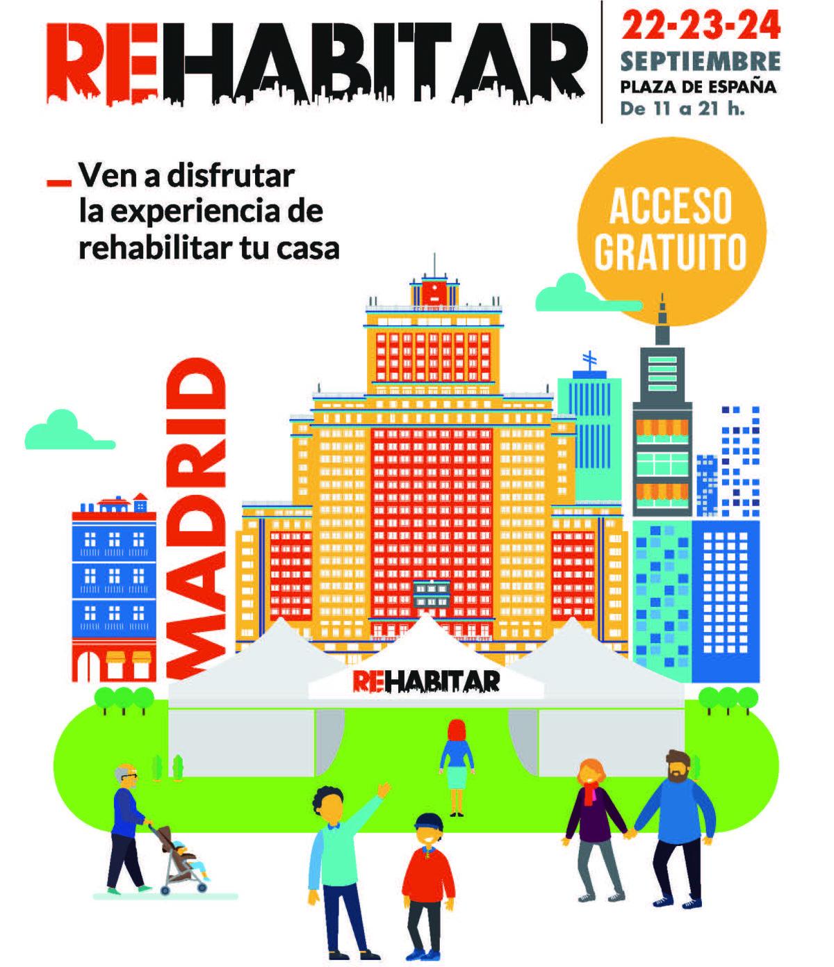 El sistema Sate Rhonatherm en Feria Rehabitar Madrid