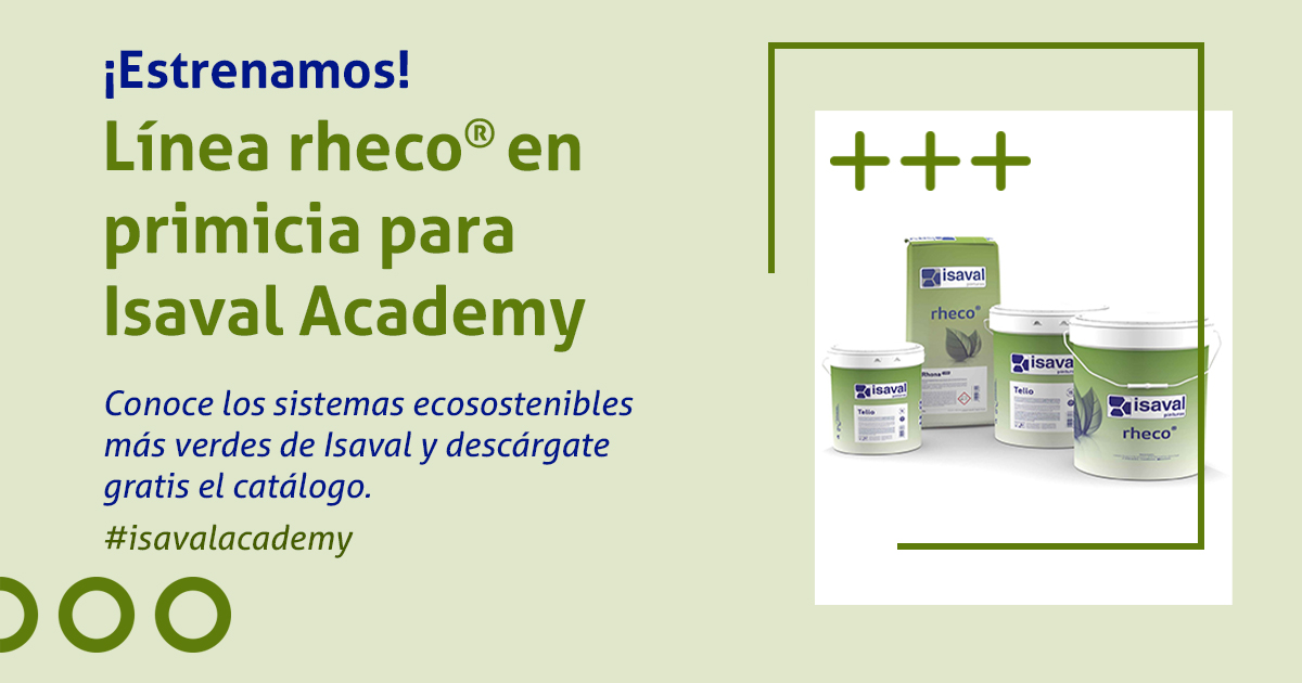 rheco soluciones ecosostenibles isaval academy