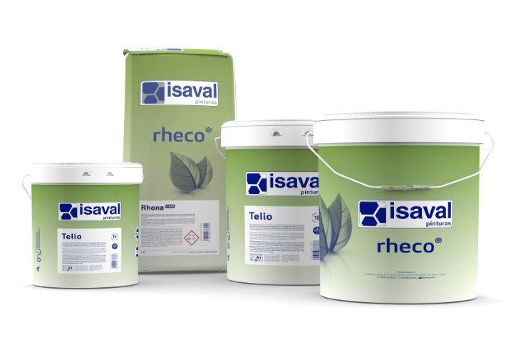 Nueva línea RHECO Pinturas Isaval