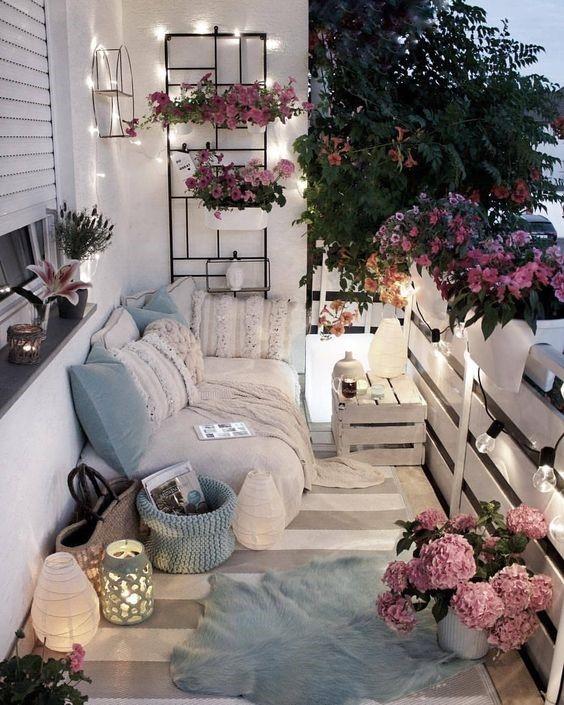 pinturas isaval te ayuda a decorar tu balcón