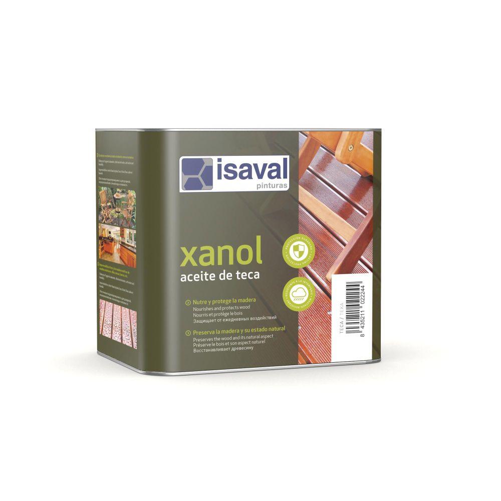 Xanol Aceite de teca, aceite de restauración de Pinturas Isaval