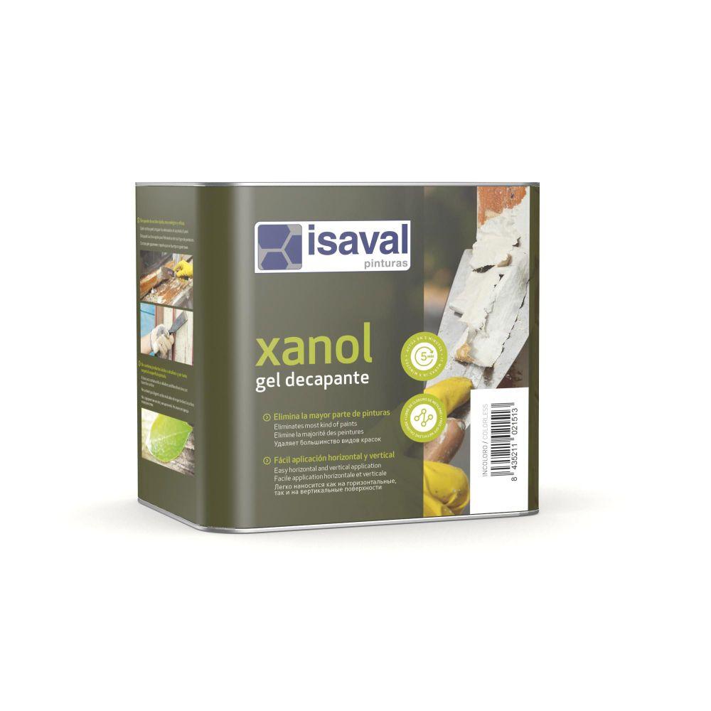 Xanol Gel decapante. Gel decapante para madera. Pinturas Isaval